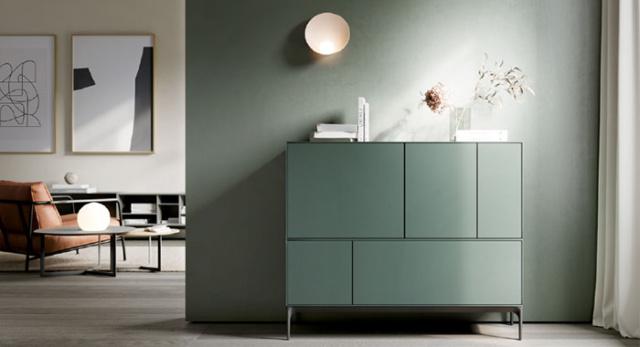 Aparador para salón de diseño minimalista Treku