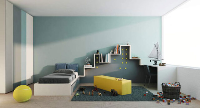 Cómo aprovechar el espacio en dormitorios juveniles